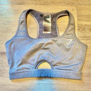Gymshark Sports Bra Keyhole Cutouts Mesh-back Sml